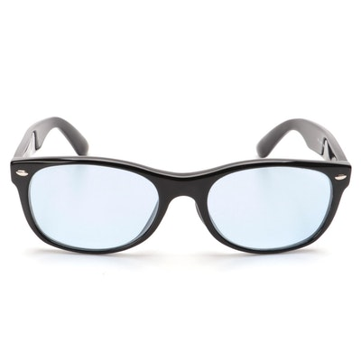 Ray-Ban RB5184F Black New Wayfarer Eyeglasses with Tinted Lenses and Case