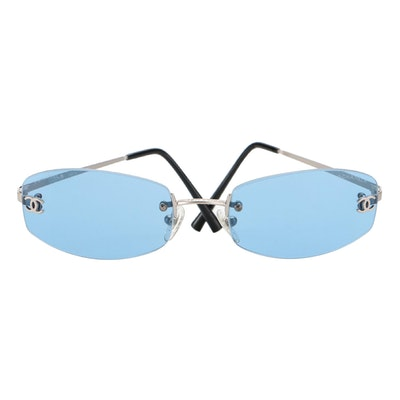 Chanel CC 4002 Rimless Sunglasses