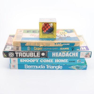 "Milton Bradley ""Bermuda Triangle,"" ""Casper,"" ""Felix the Cat,' and Other Games"