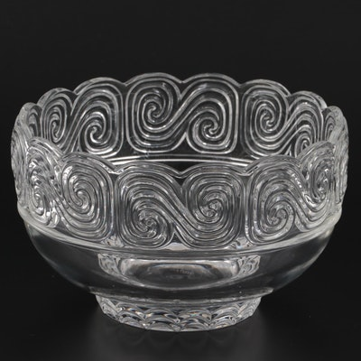 Tiffany & Co. Louis Comfort Tiffany Collection Crystal Bowl