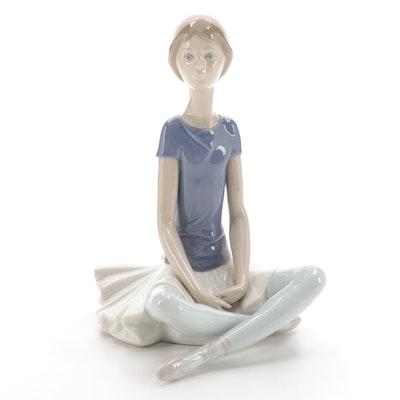 """Lladró """"Beth"""" Porcelain Figurine Designed by Juan Huerta"""