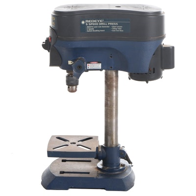 GMC Redeye Laser 5-Speed Electric Drill Press