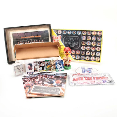 Sports Collectibles Featuring Trading Cards, Bobblehead, Coins and Magazines