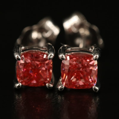 14K 1.50 CTW Diamond Stud Earrings