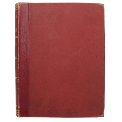 """Royal Arch Masons """"Book of Marks,"""" Late 19th Century"""
