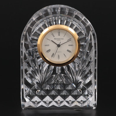 """Waterford Crystal """"Giftware"""" Quartz Movement Clock"""