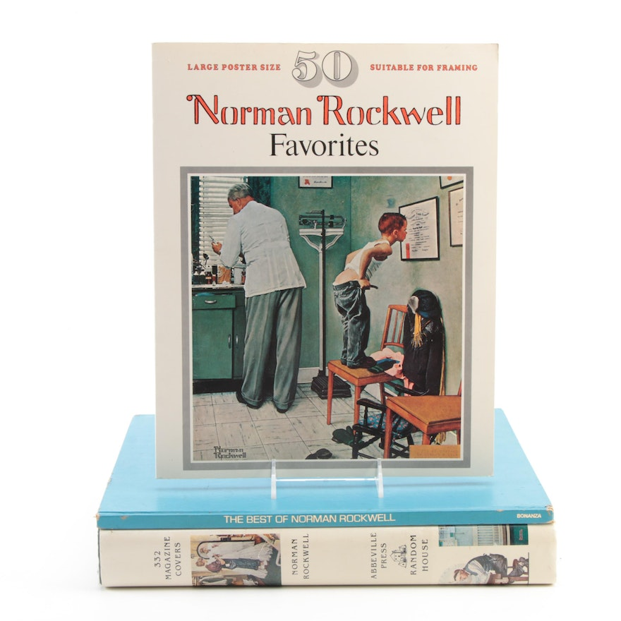 """""""Norman Rockwell: 332 Magazine Covers"""" and More, Mid to Late 20th Century"""