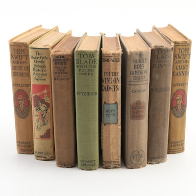 """""""Tom Swift"""" Series and More Children's Books, Early to Mid-20th Century"""