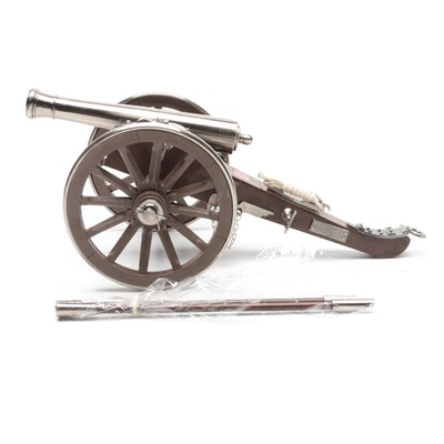 U.S. Civil War Replica Cannon with Hidden Dagger