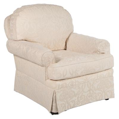 Sherrill Furniture  Skirt-Upholstered Armchair