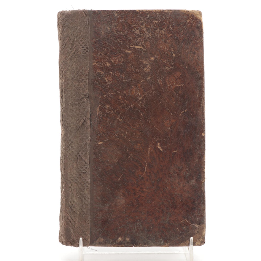 """First American Edition """"Meditations and Prayers of Thomas Wilson,"""" 1804"""