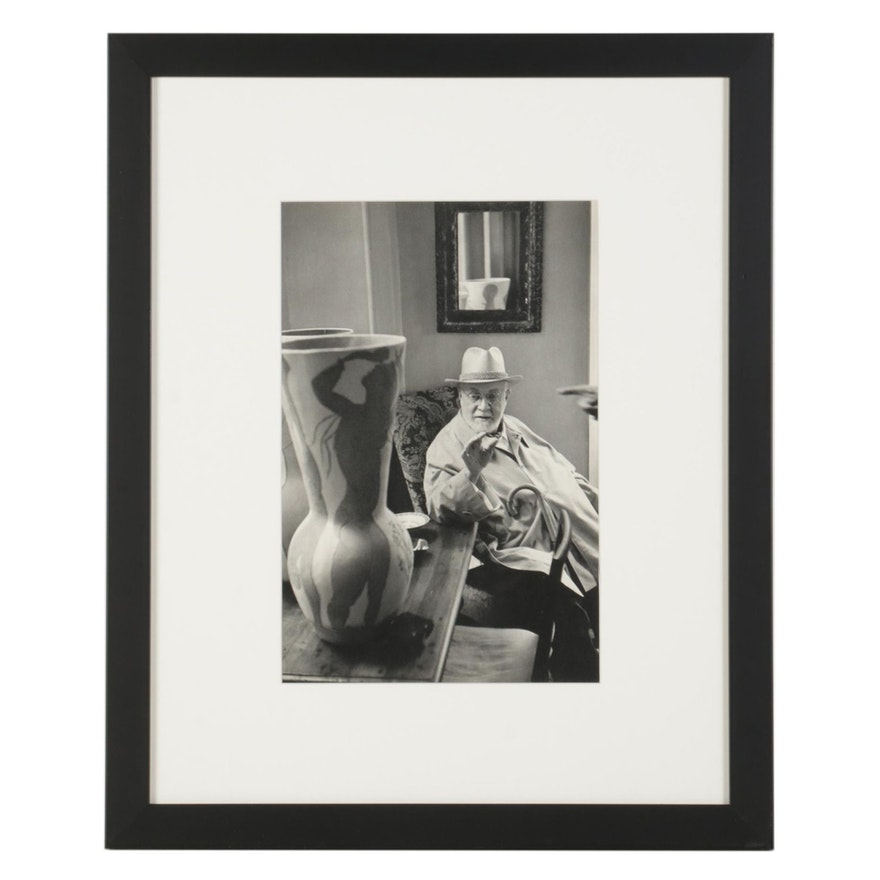 "Henri Cartier-Bresson Rotogravure ""Matisse in St.-Jean-Cap-Ferrat, 1952,"" 1952"