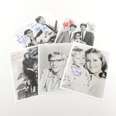 Erin Murphy, Paul O'Keefe, Don Grady, Stanley and Barry Livingston Signed Prints