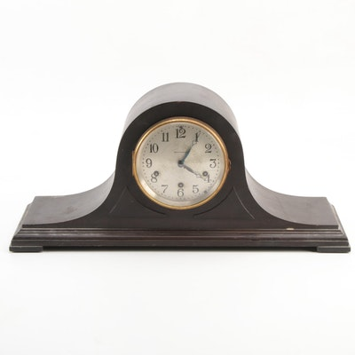 Seth Thomas Westminster Chime Tambour Mantel Clock, Early 20th Century