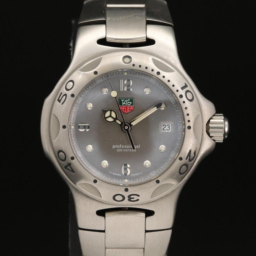 "TAG Heuer ""Kirium"" Stainless Steel Quartz Wristwatch"