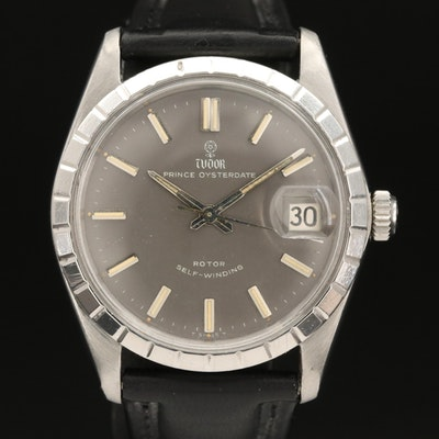 1966 Tudor Prince Oysterdate Stainless Steel Automatic Wristwatch