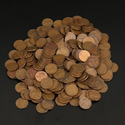 Large Collection of Assorted Date Lincoln Wheat Cents