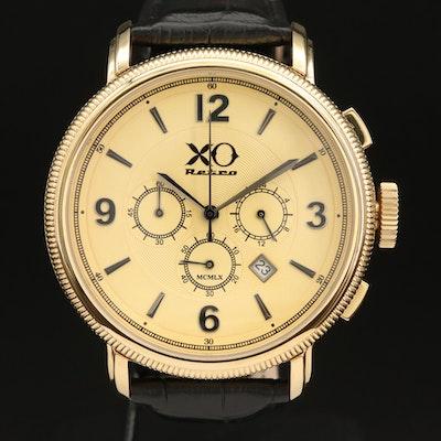 XO Retro 250GT Chronograph Gold Tone Quartz Wristwatch