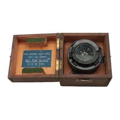 Gimbal Mounted Liquid Compass