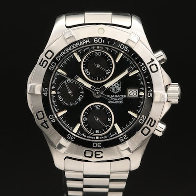 TAG Heuer Aquaracer 300M Chronograph Stainless Steel Automatic Wristwatch