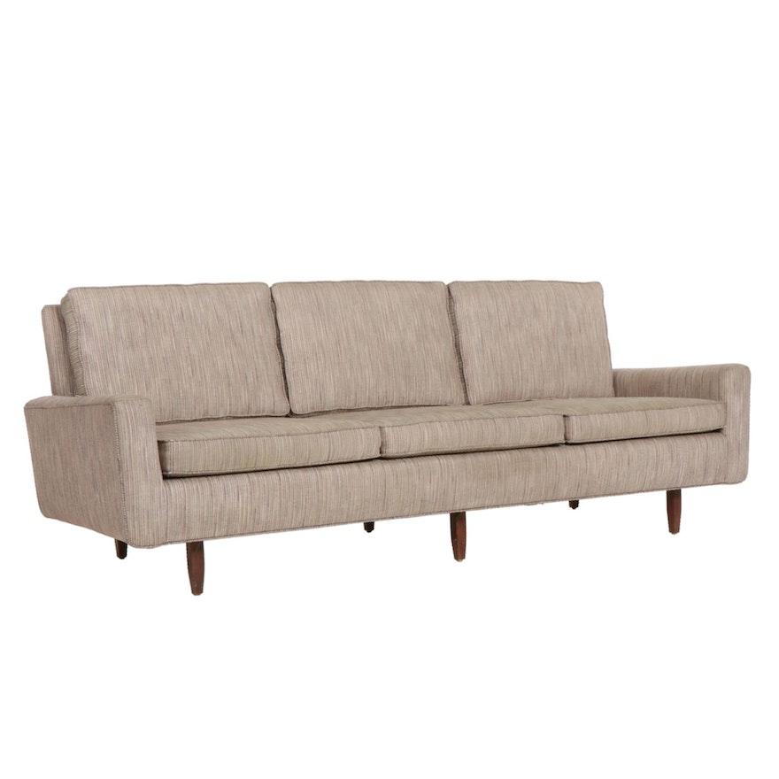 Florence Knoll Mid Century Modern Three-Seat Sofa