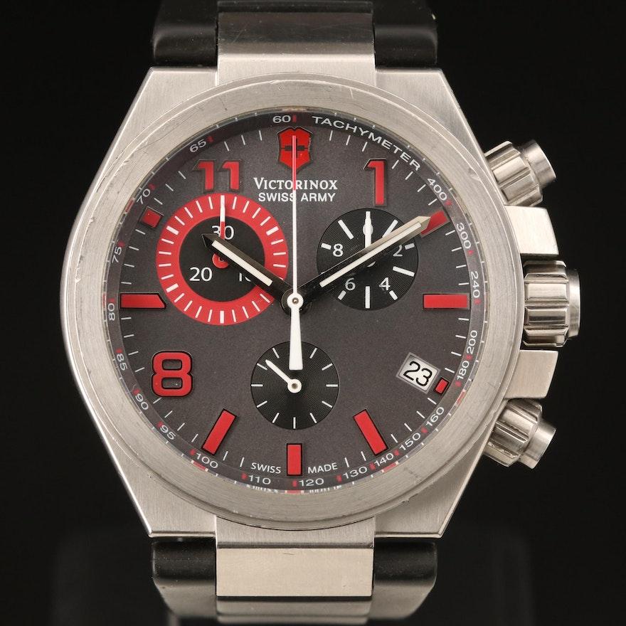 Victorinox Swiss Army Convoy Chrono Stainless Steel Quartz Wristwatch