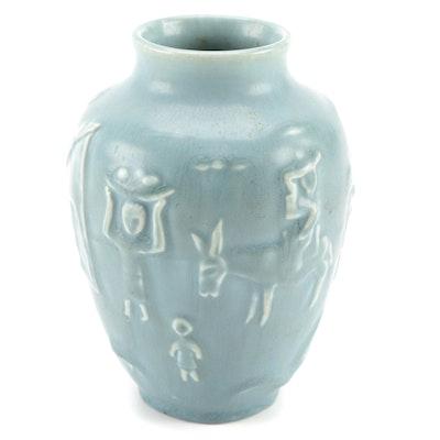 Rookwood Pottery Southwestern Style Ceramic Vase, 1949