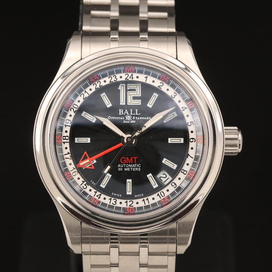 Ball Official Standard Stainless Steel Wristwatch