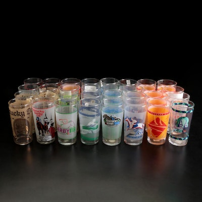 Libbey Kentucky Derby Collectible Julep Glasses, 1970–2014