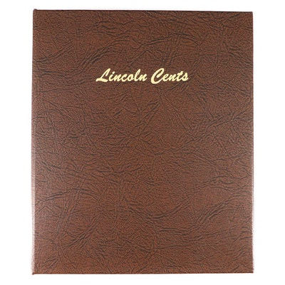 Lincoln Cent Collection in Dansco Folder Including Key Dates