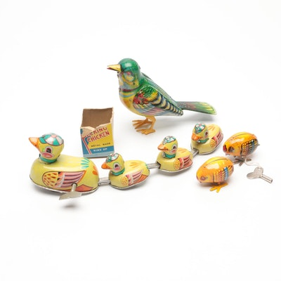 Antique Bird Toys