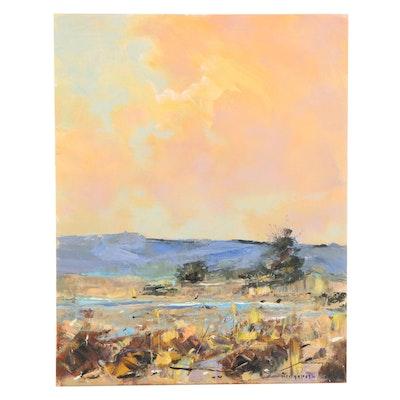 Stephen Hedgepeth Landscape Oil Painting, 21st Century
