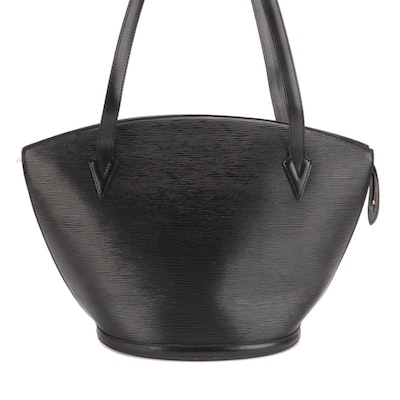 Louis Vuitton Saint Jacques GM in Black Epi and Smooth Leather