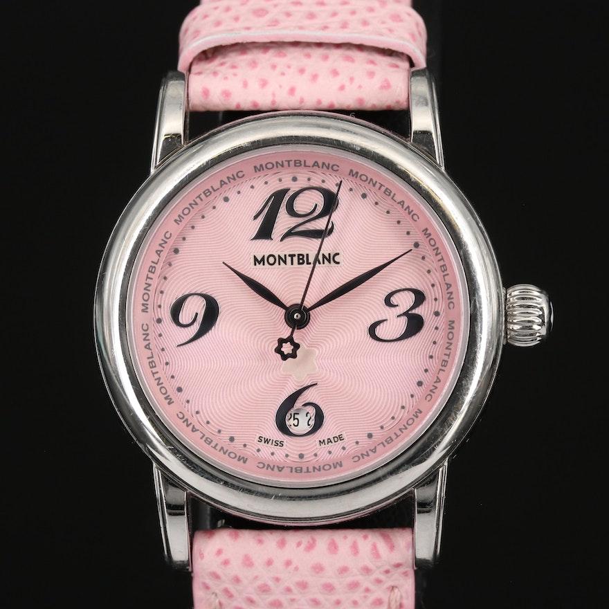 Mont Blanc Meisterstuck Stainless Steel Quartz Wristwatch