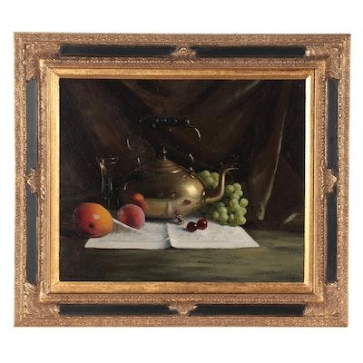 Herbert E. Abrams Still Life Oil Painting