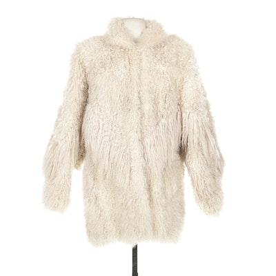 Arctic Dream Tibetan Lamb Fur Coat