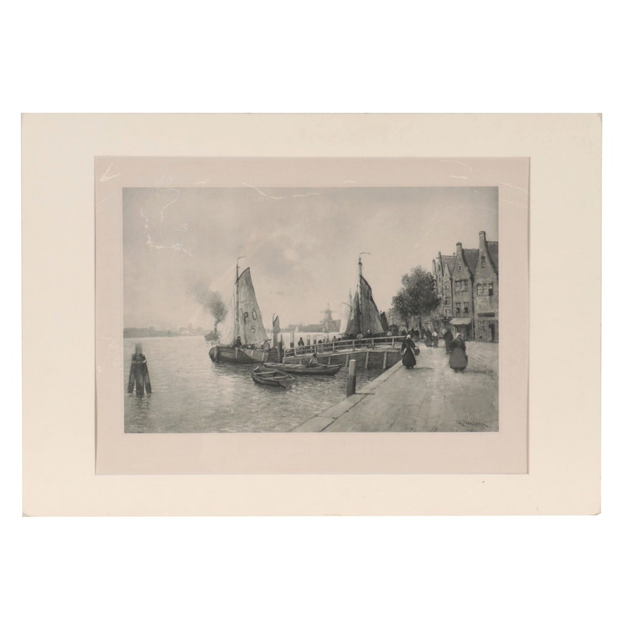 Lithograph After Karl Ludwig Friedrich Wagner, Late 20th Century