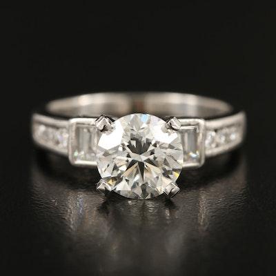 Platinum 2.73 CTW Diamond Ring