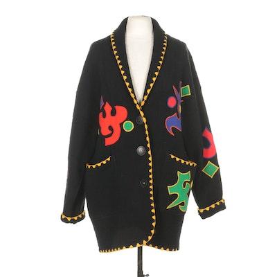 IB Diffusion Sport Boiled Wool Jacket