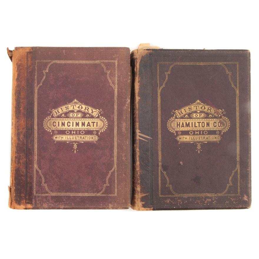 "Illustrated ""History of Cincinnati"" and ""History of Hamilton County,"" 1881"