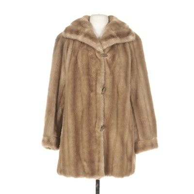 Dubrowsky & Perlbinder Faux Fur Coat