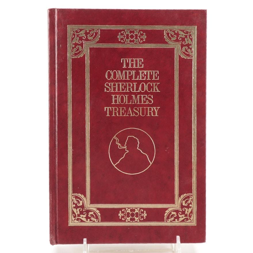 "Illustrated ""The Complete Sherlock Holmes Treasury"" by Arthur Conan Doyle, 1976"