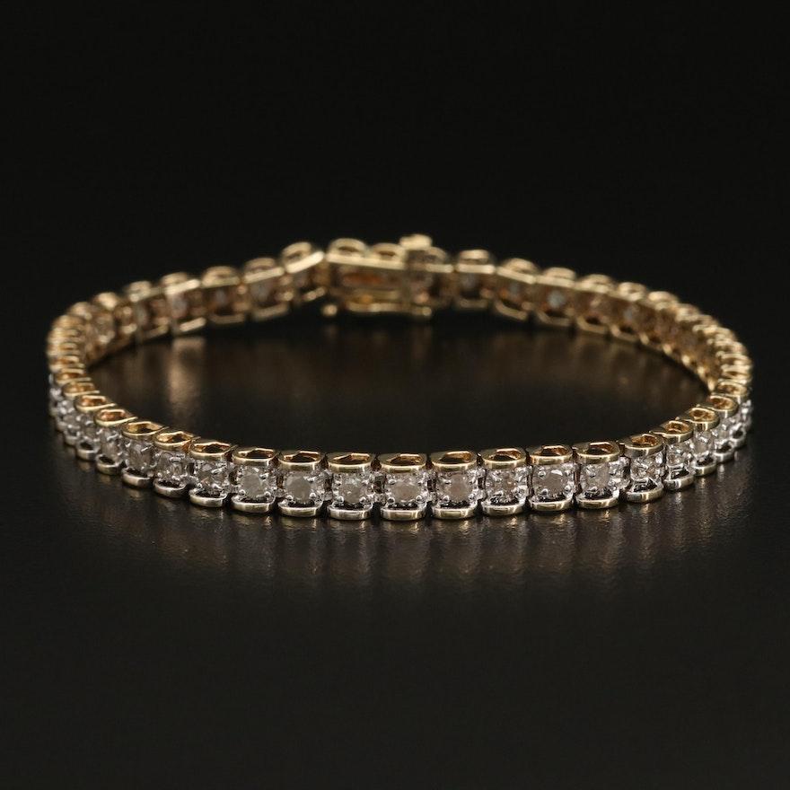 10K 1.95 CTW Diamond Bracelet