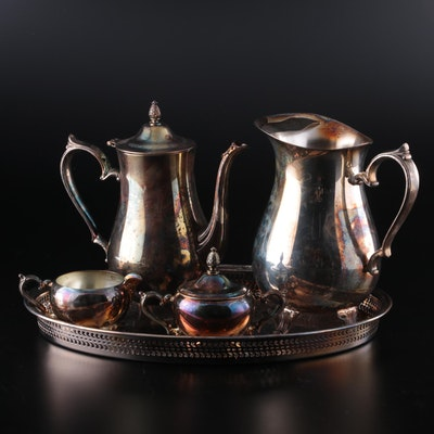 International Silver Co. Silver Plate Coffee Service