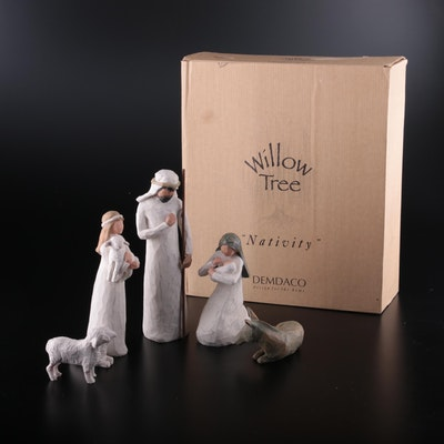 """Sue Lordi for Willow Tree """"Nativity"""" Figurines"""