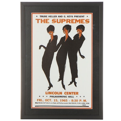 The Supremes Giclée Concert Poster, 21st Century