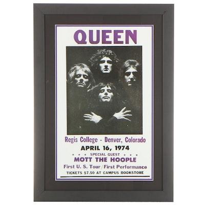 Giclée Concert Poster of Queen, 21st Century