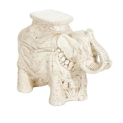 Ceramic Elephant Plant Stand