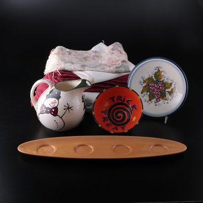 Decorative Table Accessories, Linens, Seasonal Décor, and More