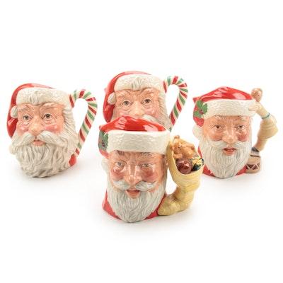 """Royal Doulton Collector's Society """"Santa Claus"""" Character Jugs"""